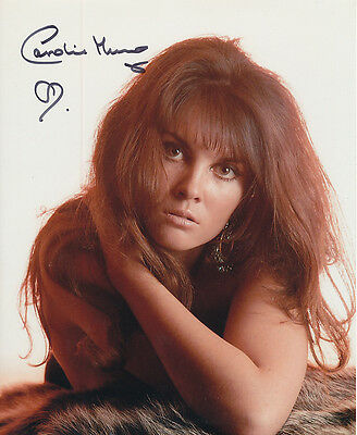 Caroline Munro In Person Signed Photo - A194 - Gorgeous!!!!