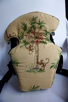 0c8a748f55d Theodore Bean Collection Jungle   Monkey theme baby Infant toddler carrier
