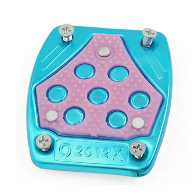 Blue Pink Non-slip Auto Car Pedal Cover Brake/Cluth Pad Plate Foot Treadle