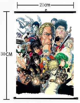 Japan Anime  One Punch Man home decor  Wall Scroll Poster 591