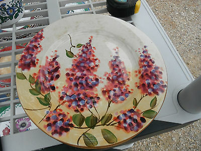 Heritage Mint WISTERIA hand painted salad plate,Scottsdale,AZ,1 of 3 available