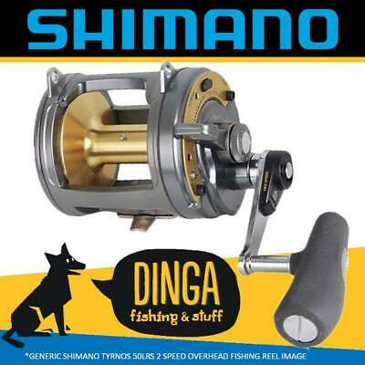 Shimano Tyrnos 50LRS II Overhead Lever Drag Fishing Reel 2 Speed