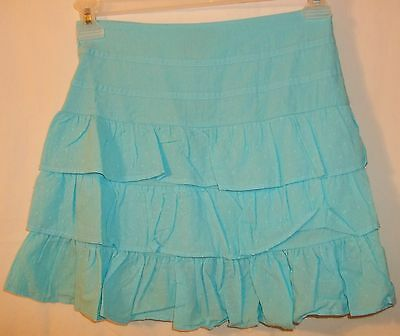 Faded Glory Turquoise Tiered Skirt  Girls Size Xl  *nwt