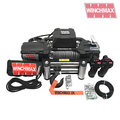 ELECTRIC WINCH 12V 4x4 13500 lb SL WINCHMAX BRAND MIL SPEC - WIRELESS FEATURE