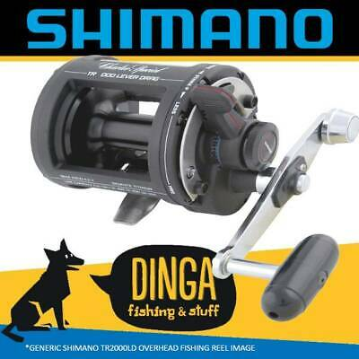 Shimano TR2000LD Charter Special Overhead Lever Drag Fishing Reel