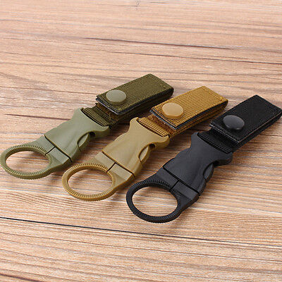 Hanging Buckle Mineral Water Bottle Clip/Drink Holder Camping Hiking Outdoor AU