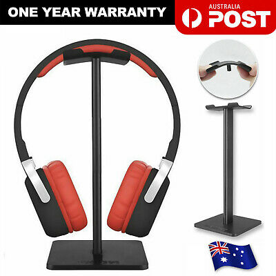 Portable Earphone Headset Hanger Holder Headphone Fashion Desk Display Stand
