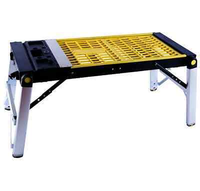 Large 4 In 1 Work Station Bench Outdoor Garden Platform Trolley Creeper DIY NEW