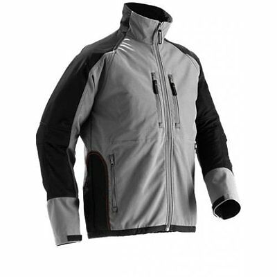 Husqvarna High Quality Grey Soft Shell Jacket - All Sizes