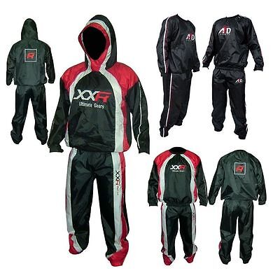 XXR Heavy Duty Sweat Suit Sauna Exercise Gym Suit Fitness weight loss and hooded