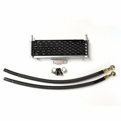 High Performance Motorcycle Oil Cooler Radiator Cooling Parts Fit ATV Dirt Bike