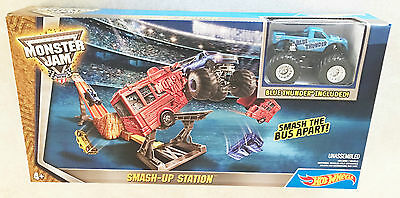 Hot Wheels Monster Jam Launch and Smash Track Set Ages 4+ Boys Girls Gift Play