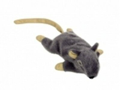 Catnip Cat Toy Large Nobby Grey Mouse 14.5Cm Soft Fur Kitten Toy Cat Toy