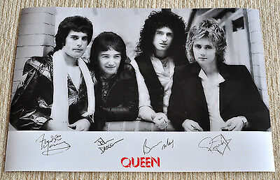 Queen Poster News Of The World Freddie Mercury Promo Poster 19 x 13 RaRe