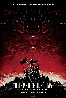 INDEPENDENCE DAY RESURGENCE IMAX 13x19 PROMO MOVIE POSTER