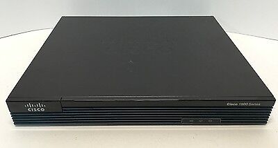 CISCO1921/K9 - Cisco 1921 2-Port Gigabit Router - IOS 15.4  *Same Day Shipping*
