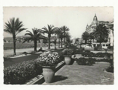 France - Cannes, La Croisette - Vintage Real Photo Postcard
