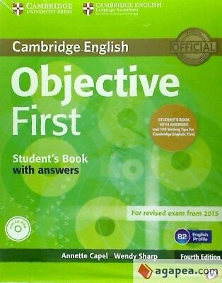 Objective First (4th ed.) Student's Book with Answers with CD-ROM (FCE 2015)