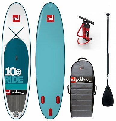 Red Paddle Set 10.6' inkl. Paddel Surfer RedAir SUP Board Familienboard