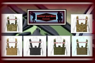 Invader Gear Molle Rig Light Chest Rig Multicam coyote OD A-TACS Black Oliv BW