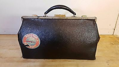 Vintage Leather Doctors Bag (White Pass & Yukon Route)