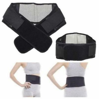 Magnetic Heat Waist Belt Brace Lower Back Therapy Support Pain Relief FW