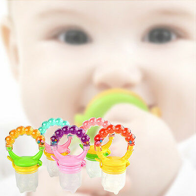 Baby Food Nipple Feeder Fresh Vegetable Fruit Milk Chew Pacifier Feeding Tools