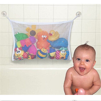S/L Bath Time Toy Hammock Baby Toddler Child Toys Stuff Tidy Storage Net Bag AU