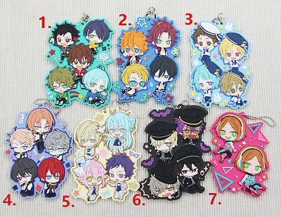 2016 Anime Ensemble stars es Knight 2Wink Rubber Strap Keychain New Gifts
