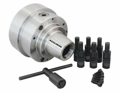 "5C, 5"" Collet Chuck with Integral D1-6 Camlock Mounting, #0269-0016"