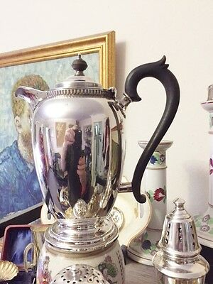 Sterling Silver Coffee pot - Chocolate Pot -  Water Pot - Adie Brothers Ltd,