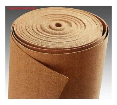 Cork Sheet Roll Cork 2mm, 3mm, 4mm and 5mm - MANY SIZES