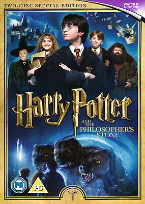 Harry Potter and the Philosopher's Stone (DVD) Daniel Radcliffe, Rupert Grint