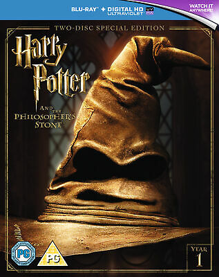 Harry Potter And The Philosophers Stone 2016 Edition (Blu-ray)