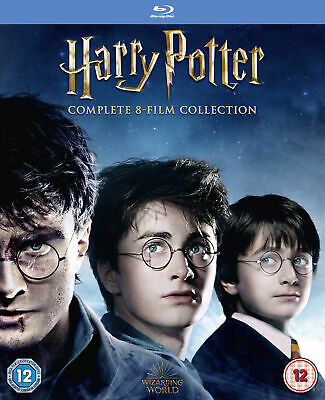 Harry Potter - Complete 8-film Collection (Blu-Ray) Daniel Radcliffe
