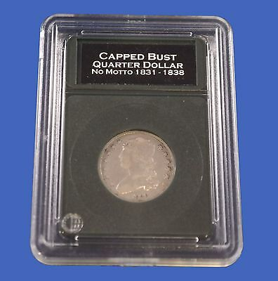 Premier Slab Coin Holder for Quarters 1831 to Present with Labels