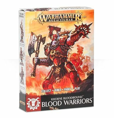 Easy To Build Blood Warriors - Age Of Sigmar - Games Workshop-