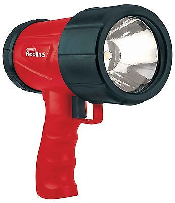 Draper Redline 1W Cree LED Rechargeable Hand Torch Lantern Lamp Light Camping