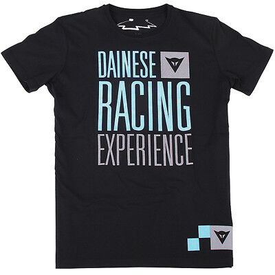 Dainese Racing Experience Motorcycle Casual Wear T-Shirt - Black
