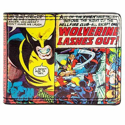 New Official Awesome Marvel Comics Wolverine X-Men Bi-Fold Wallet