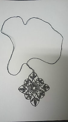 Lace Chain and pendant - Antique - EXPO 1958 - Brusel - Prize winner - RARE
