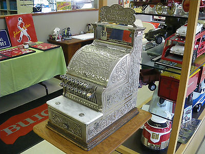 1907 National Cash Register with Stand and Topper