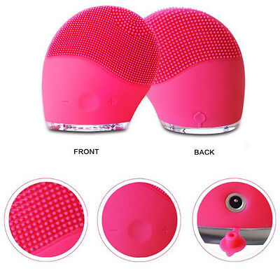 Hot Facial Cleansing Brush Face Washing Machine Electric Soft Silicone Cleanser