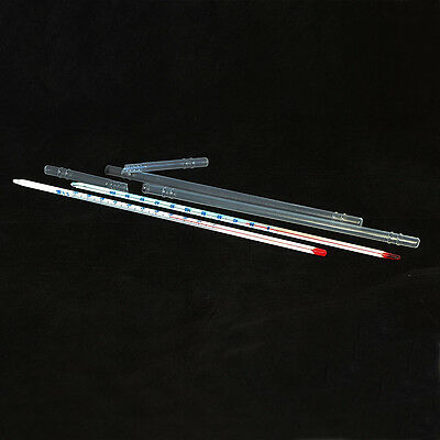 100/200 Celsius Degree Glass Thermometer 290mm,Laboratory Chemistry Glassware