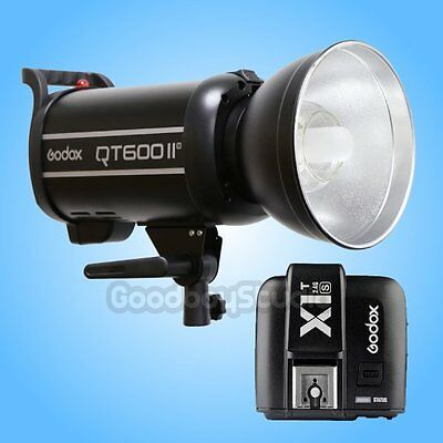 Godox QT-600IIM 600W 2.4G X-System Studio Strobe Flash Light + X1T-S Transmitter