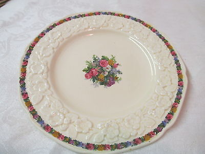 Vintage England Crown Ducal Bread & Butter Plate Gainsborough Charm RdNo749657