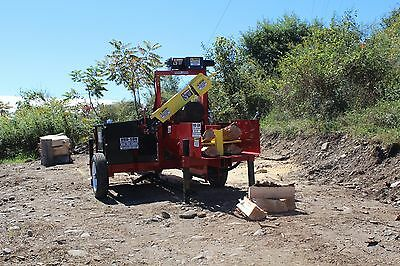 Hud-Son Forest Firewood Processor Wolverine A Wood Splitter  log Splitter