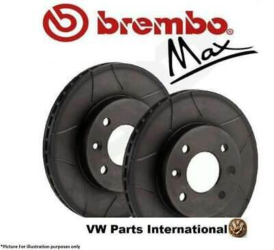 Audi A6 Brembo Max Front Performance Brake Discs 288mm
