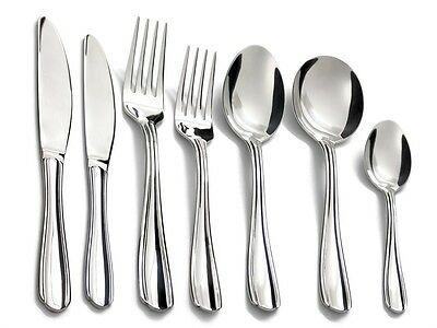 Tuffsteel Madeleine 56Pc Stainless Steel Quality Cutlery Set Fork Spoon Knife