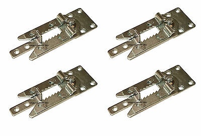 Style #910 Sofa Sectional Furniture Metal Snap Connector Fixed Mount - Set of 4